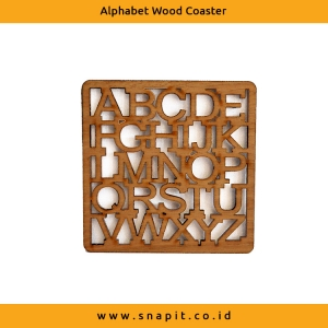 Alphabet Coaster Set